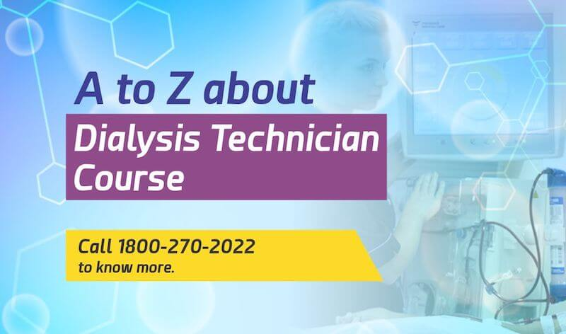 Dialysis Technician - SMART Healthcare Dialysis Technician Course Block Post