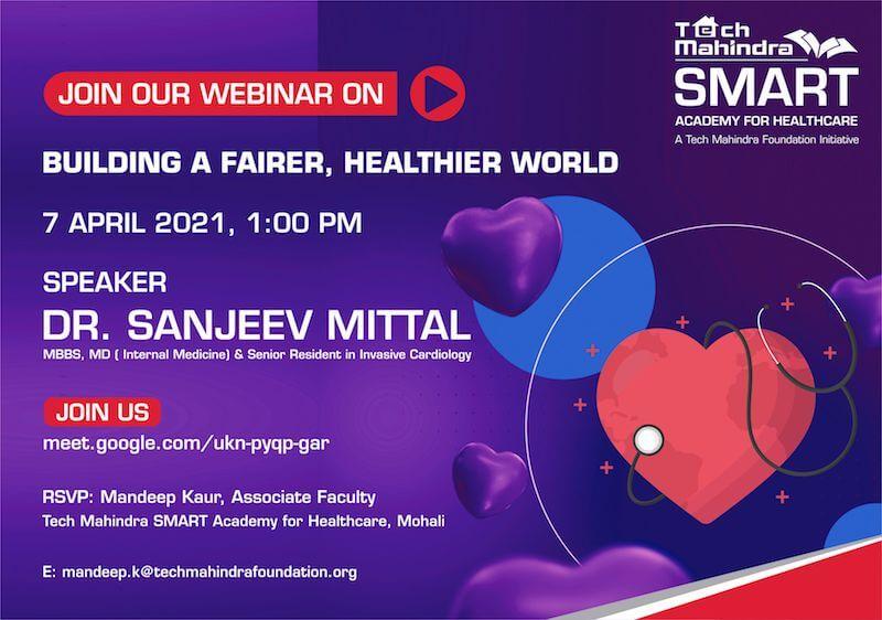 BUILDING A FAIRER, HEALTHIER WORLD Webinar