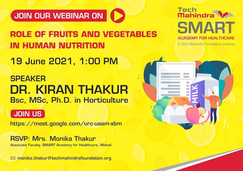 Role of Fruits and Vegetables in Human Nutrition